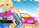Juego barbie carrera de coches