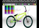 juego bici custom