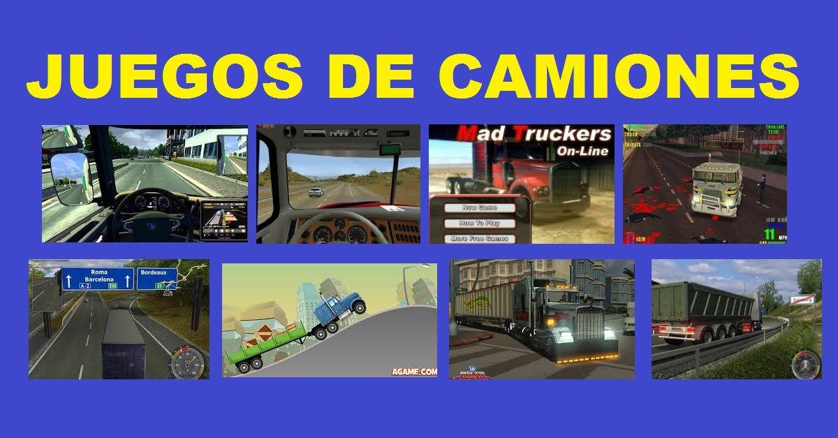 Juegos de Camiones de Pasajeros Volvos Volteos Palas