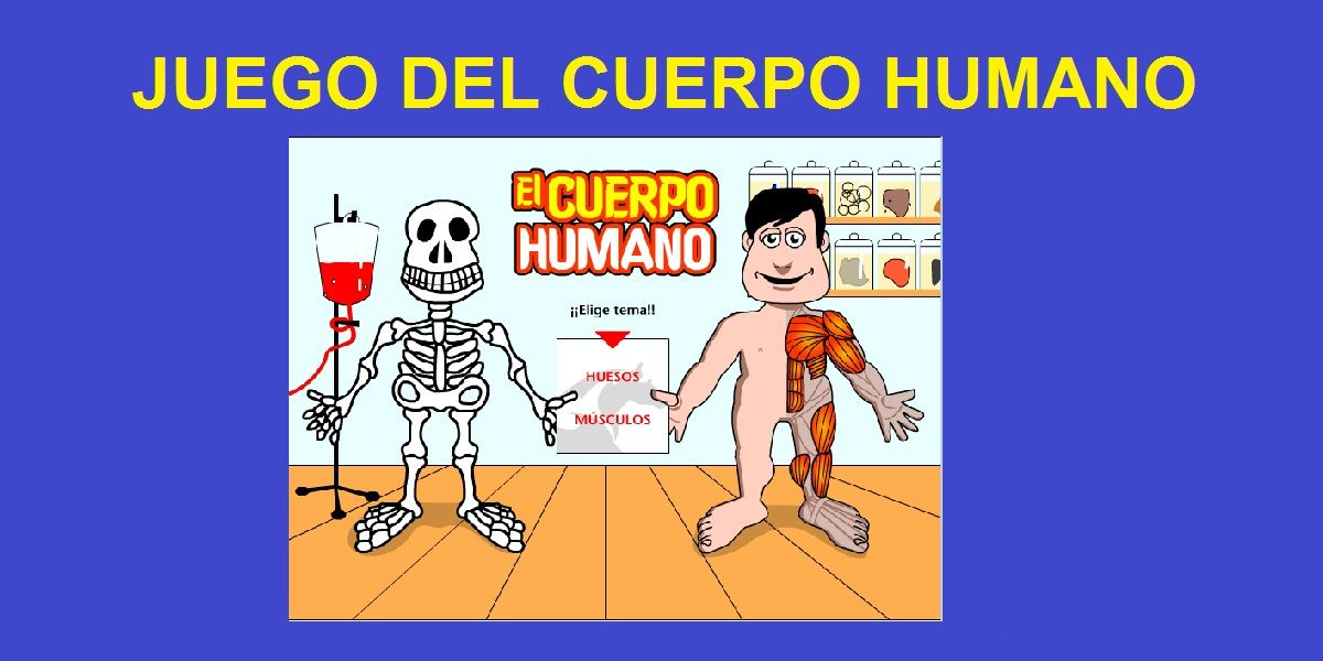 Juego del Cuerpo Humano Interactivo