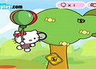 Juego Hello Kitty Globos
