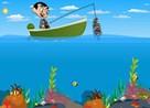 mr bean pescando