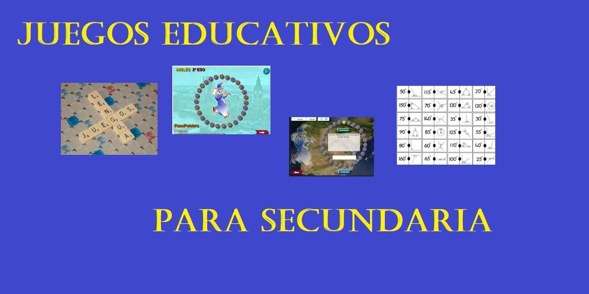 Juegos Educativos Para Secundaria Y Jovenes Didacticos