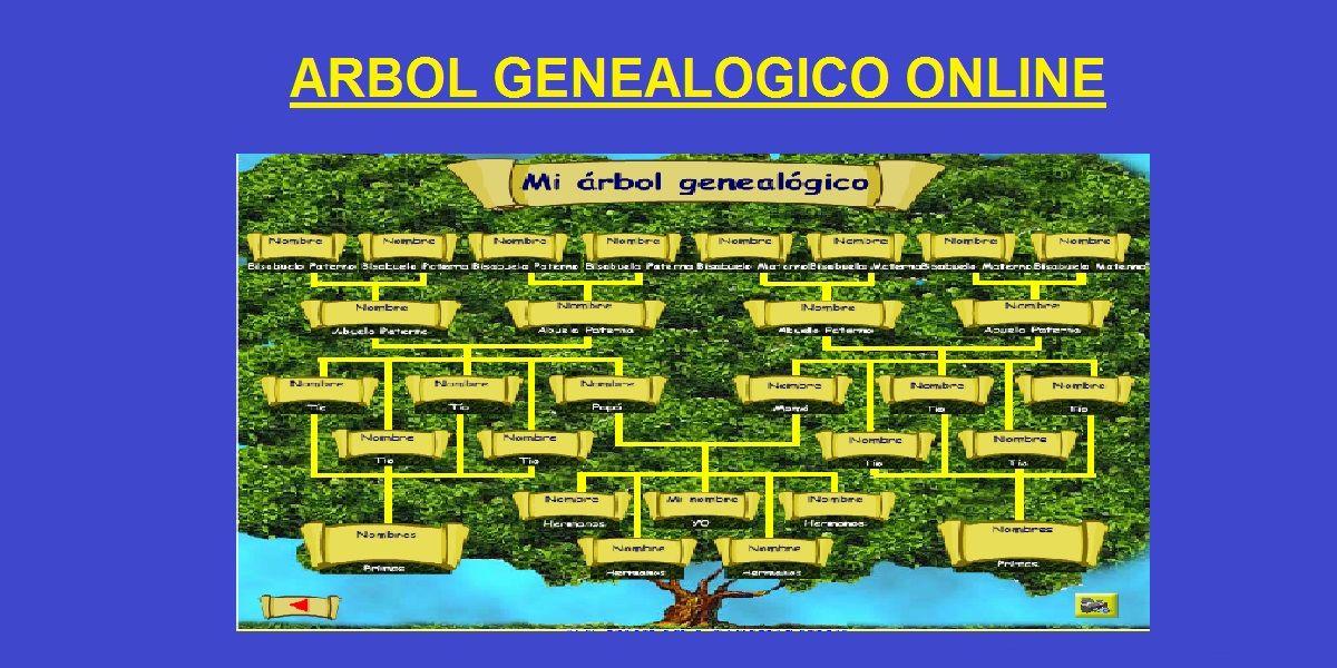 arbol genealogico online crea tu arbol genealogico gratis