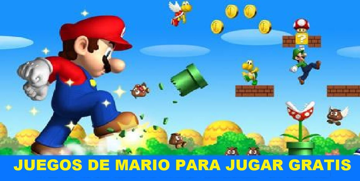 Juegos De Mario Para Jugar