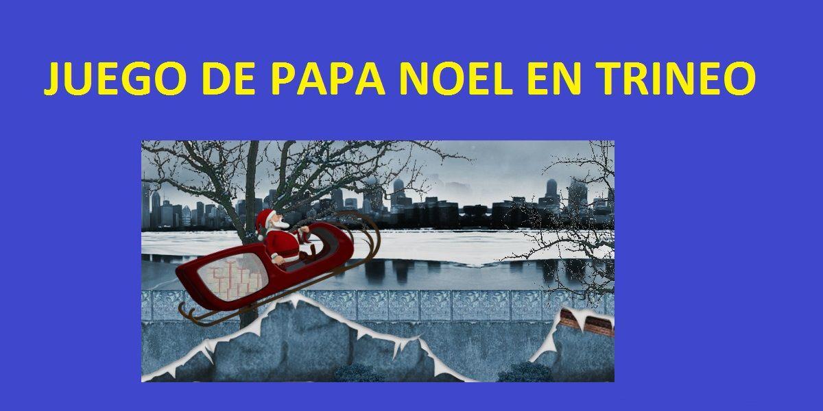 juegos gratis de papa noel repartiendo regalos