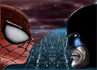 Juego spiderman contra batman en moto