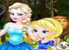 baby elsa frozen jugar